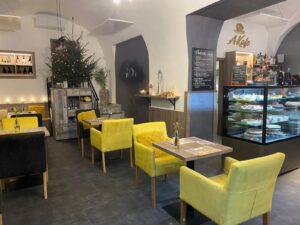 Kavárna v Chrudimi